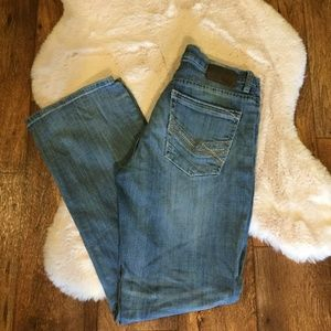 BKE Derek Boot Leg Denim Jeans Medium Wash